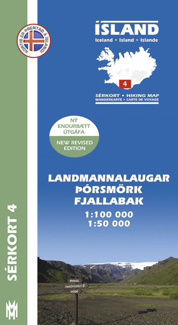 Iceland Outdoor Maps