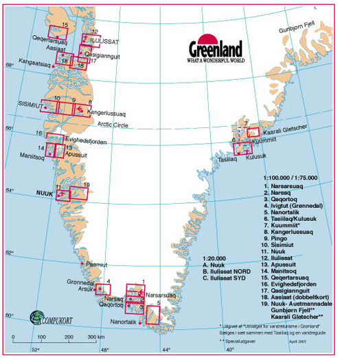 Greenland Outdoor Maps