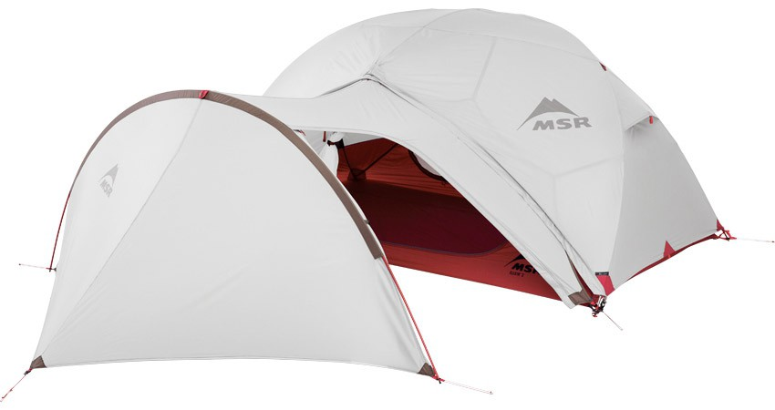 MSR GearShed Green V2 Compatible Elixir /& Hubba NX Extension de Tente