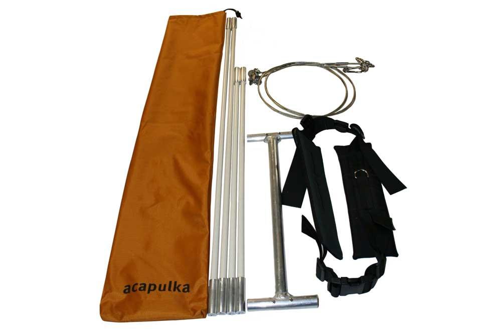 Brancard rigide Acapulka Drag Wire System