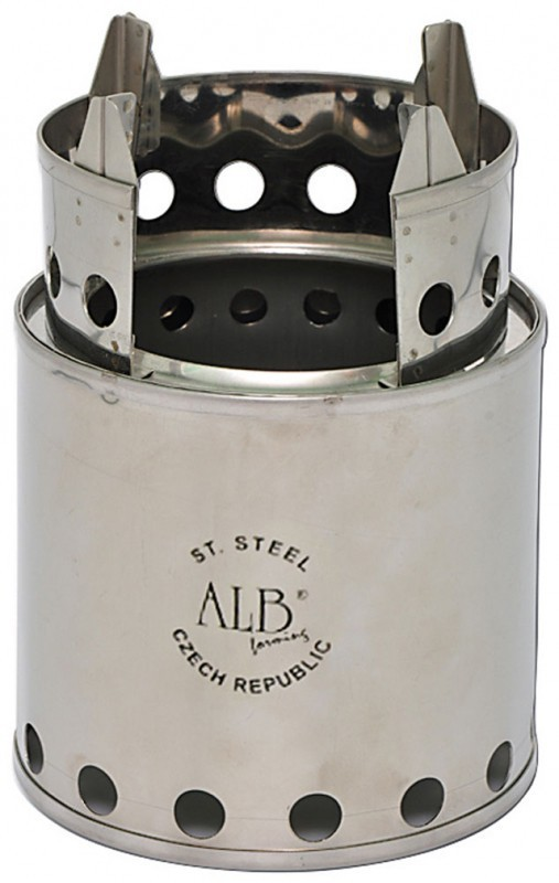 Wood stove (Bush Budy) Stainless steel