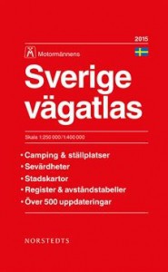 Road Atlas of Sweden Sverige XL - Norstedts