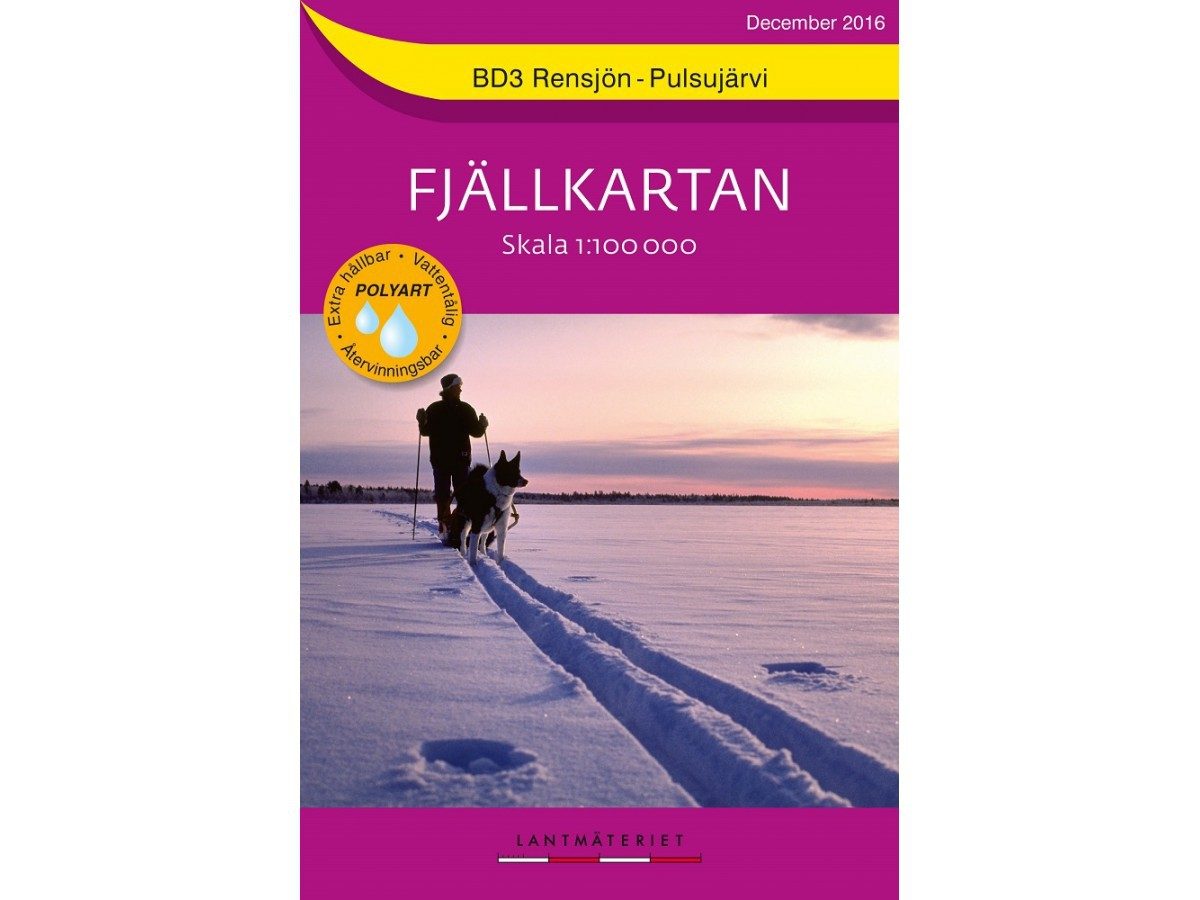 BD3 Rensjön - Pulsujärvi