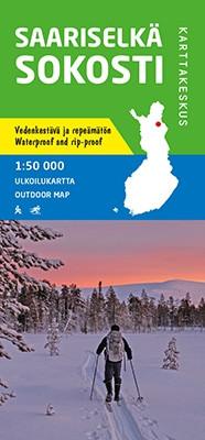 Outdoor map Halti-Kilpisjärvi