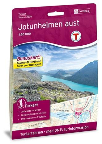 Jotunheimen Aust 1:50 000