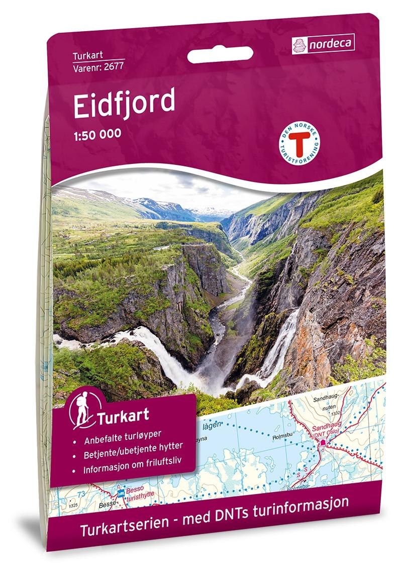 Eidfjord 1:50 000