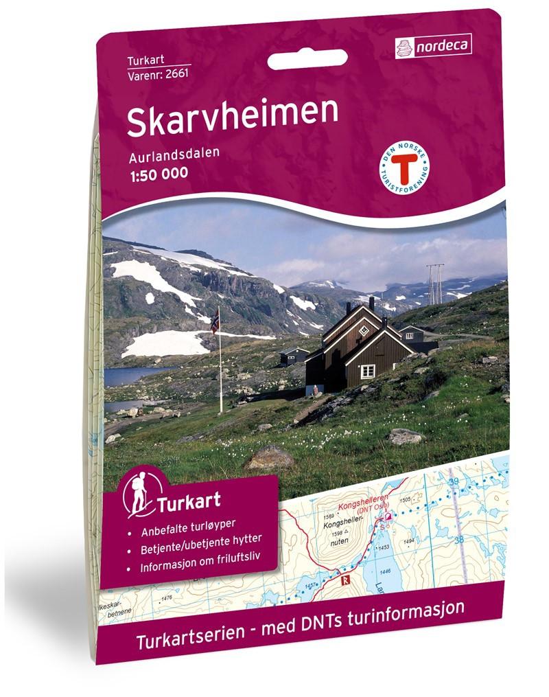 Skarvheimen 1:50 000 - Norvège