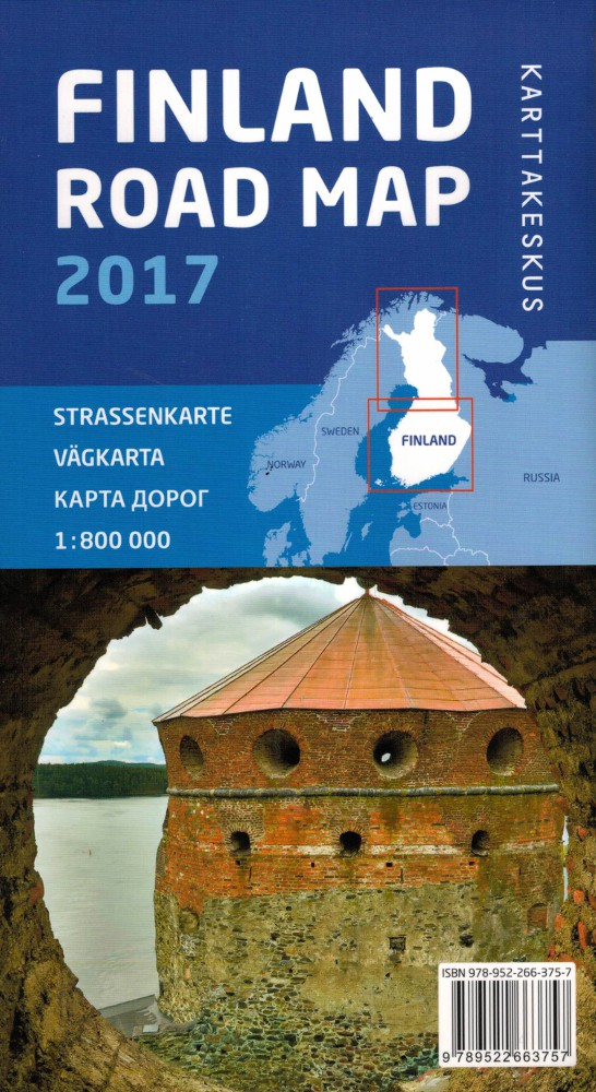 Road Map Finland 1 800 000