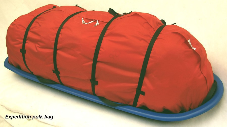Snowsled bag