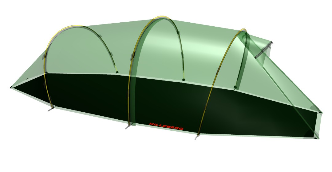 Hilleberg Footprint Nallo 3 GT