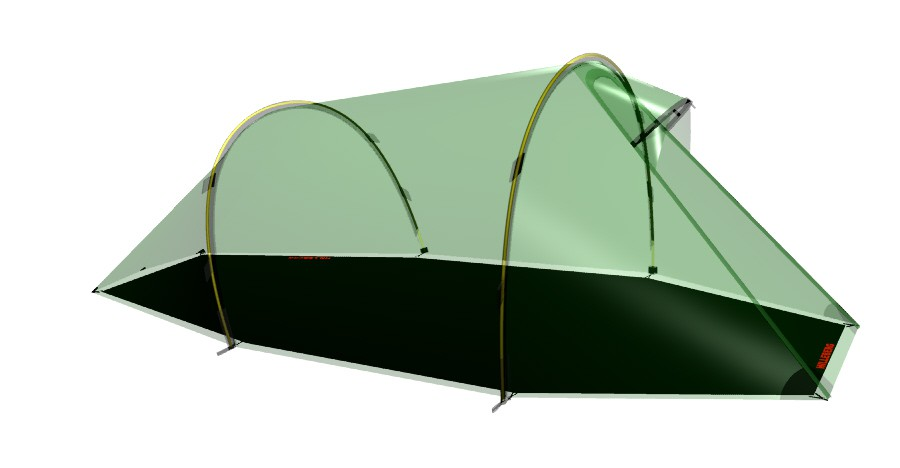 Hilleberg - Footprint Nallo 2