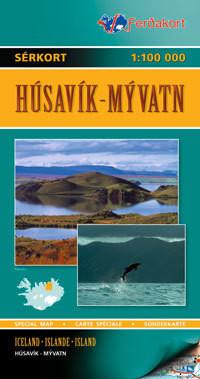 Husavik / Myvatn - 1:100 000 - Ferdakort