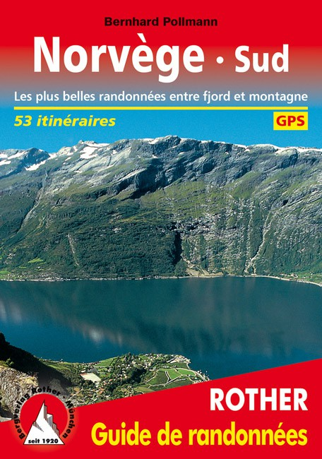 Hiking guide Norway South - Rother