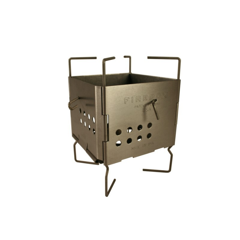 Gen2 Stainless Steel Folding Firebox Nano