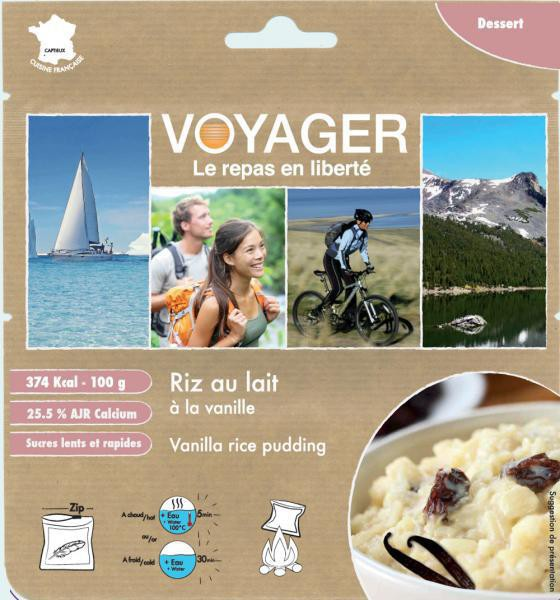 Rice pudding with vanilla- Voyager