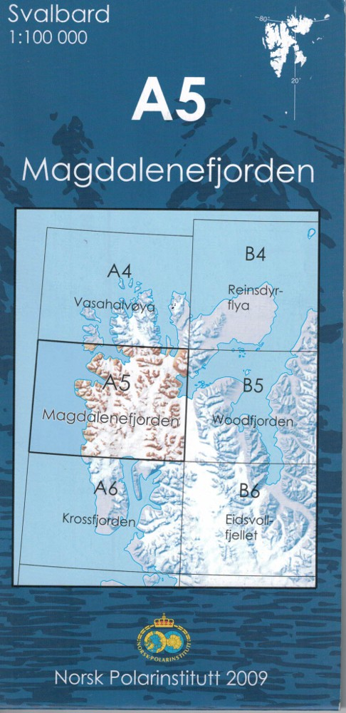 Spitzberg A5 Magdalenafjorden