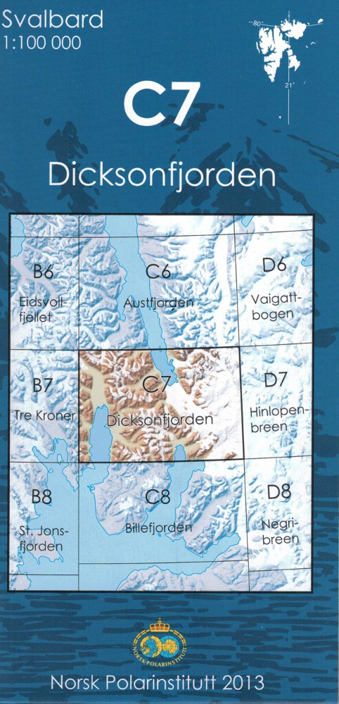 C7 Dicksonfjorden - Spitzberg