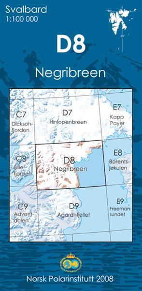 Spitzberg D8 Negribreen