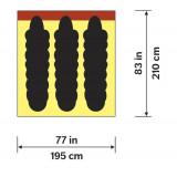 Dimensions Hilleberg Windsack 3