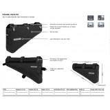 Dimensions Sacoche de cadre Ortlieb Frame-Pack RC