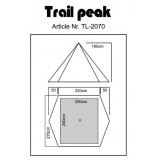 Dimensions Luxe Outdoor Trail Peak