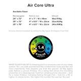 Dimensions Matelas Big Agnes Air Core Ultra