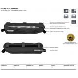 Dimensions Sacoche Ortlieb Frame-Pack Toptube Noir