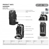Dimensions Ortlieb Gear Pack