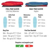 Dimensions Big Agnes Little Red