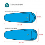 Dimensions Sierra Designs Backcountry Bivy