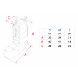 Dimensions Bottines en duvet Cumulus Shield Boots