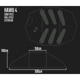 Dimensions Tente Savotta Hawu 4
