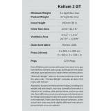 Dimensions Hilleberg Kaitum 2 GT