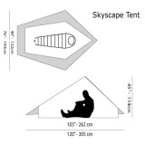 Dimensions Tente Six Moon Designs Skyscape Scout
