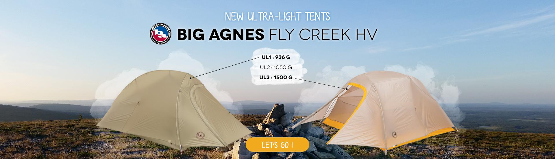Big Agnes Fly Creek HV UL
