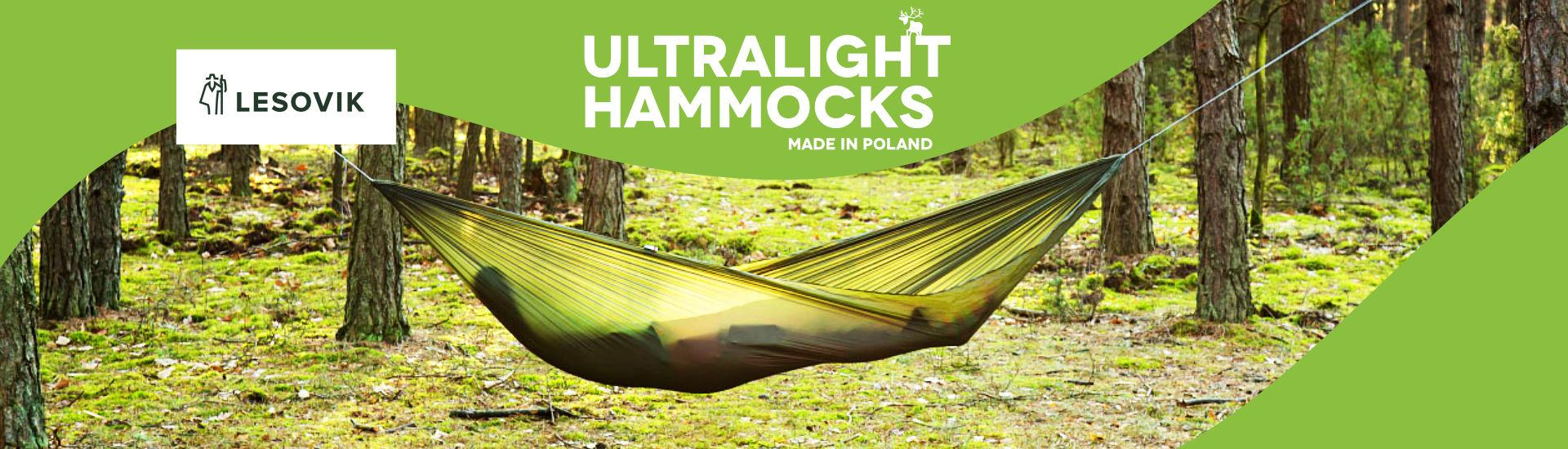 Lesovik Hammocks and Tarps