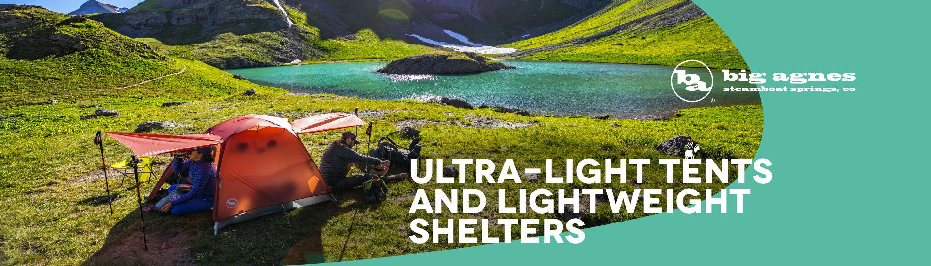 Ultralight tents Big Agnes