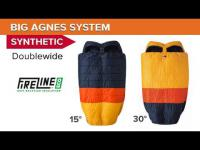Doublewide Synthetic System Bags with Flex Pad Sleeve - Cabin Creek, Big Creek
