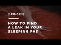 How To Find A Leak In Your Sleeping Pad