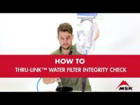 MSR Thru-Link™ Water Filter Integrity Check