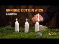 UCO 9 Hour White Candles Product Overview Video