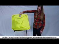 Chaises ultralégères Big Agnes Skyline UL Chair and Skyline UL Stool (Version Française)