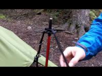 Exped Scout Hammock Combi - Go-to-Ground mode