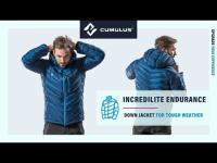 Incredilite Endurance hydrophobic down jacket by Cumulus