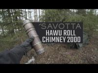 How to use Savotta Hawu roll chimney 2000